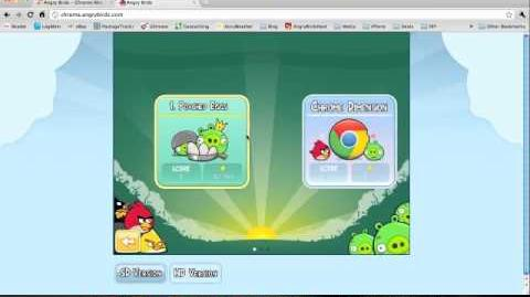 Angry Birds Chrome Web Version - Introduction to the Game