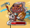 Angry Birds Epic Characters - Pigs - The Apocalyptic Hogriders - Anger