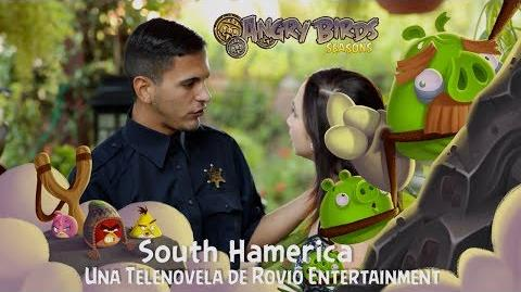 Angry Birds Seasons - South HAMerica Telenovela