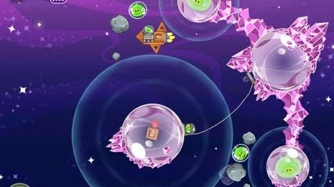 Angry Birds Space Cosmic Crystals 7-13 Walkthrough 3 Star