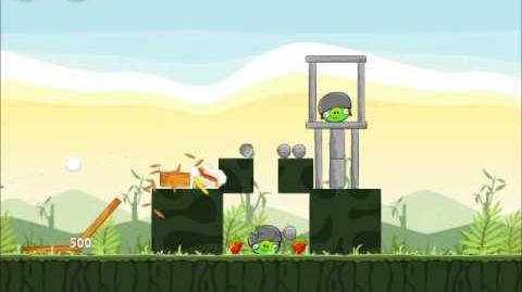 Official Angry Birds Walkthrough Poached Eggs 2-10