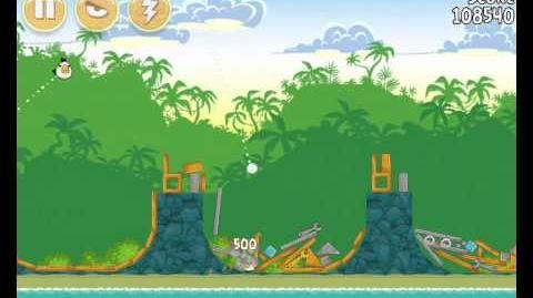 Angry Birds 21-7 Bad Piggies 3 Star Walkthrough (Angry Birds Classic 21-7)