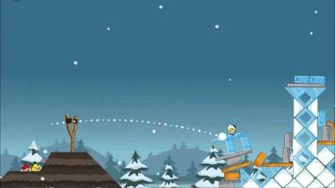 Official Angry Birds Seasons Walkthrough Season's Greedings 1-9