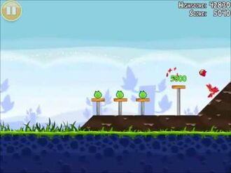 Official Angry Birds Walkthrough Poached Eggs 1-2