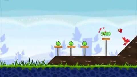Official Angry Birds Walkthrough Poached Eggs 1-2