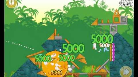 Angry Birds 21-4 Bad Piggies 3 Star Walkthrough (Angry Birds Classic 21-4)