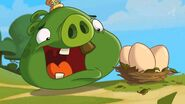 Angry Birds Toons Tooth Royal King Pig With Eggs