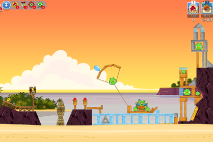 Thumbs Angry-Birds-Friends Pigni Beach Uroven 14
