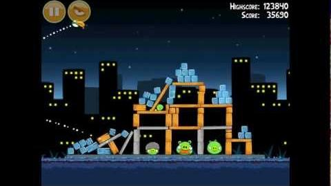 Angry Birds Danger Above 7-10 Walkthrough 3 Star