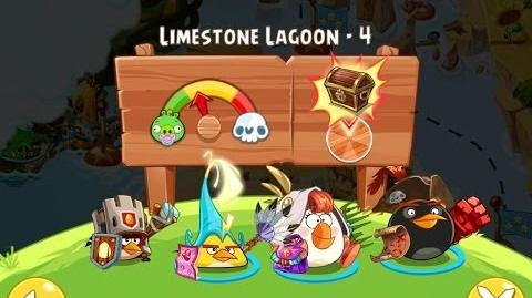 Angry Birds Epic Limestone Lagoon Level 4 Walkthrough