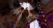 Mighty Eagle Cool Entrance