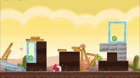 Official Angry Birds Walkthrough Poached Eggs 3-14