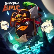 Bomb Pirate Epic Poster