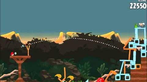 Official Angry Birds Rio Walkthrough Jungle Escape 3-5