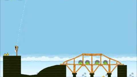 Official Angry Birds Walkthrough Mighty Hoax 4-4