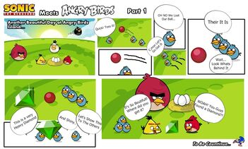 Sonic Meets Angry Birds Part 1