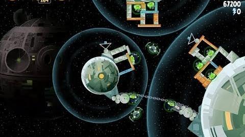 Death Star 2 6-8 (Angry Birds Star Wars)/Video Walkthrough
