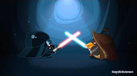 Angry Birds Star Wars Obi Wan & Darth Vader - exclusive gameplay