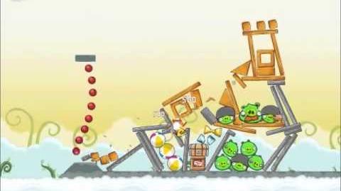 Official Angry Birds Walkthrough Danger Above 8-3