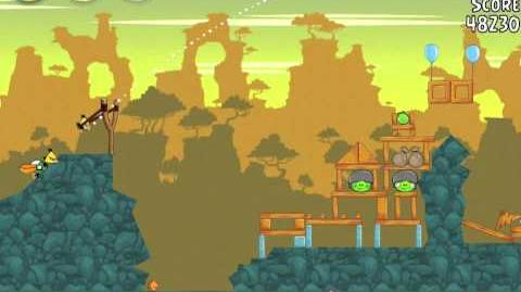 Angry Birds 22-2 Bad Piggies 3 Star Walkthrough (Angry Birds Classic 22-2)