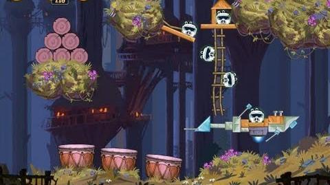 Moon of Endor 5-19 (Angry Birds Star Wars)/Video Walkthrough