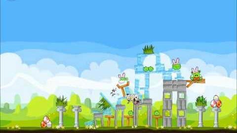 Official Angry Birds Seasons Walkthrough Easter Eggs 1-5