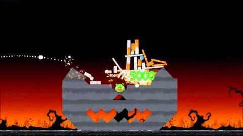 Official Angry Birds Seasons Walkthrough Trick or Treat 2-2