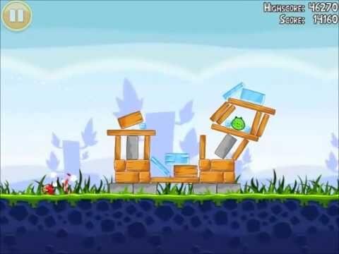 Official Angry Birds Walkthrough Poached Eggs 1-9
