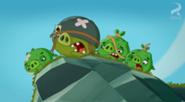 Свиньи на холме