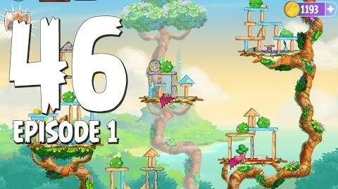 Angry Birds Stella Level 46 Walkthrough Branch Out Episode 1