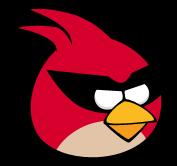 Red bird space