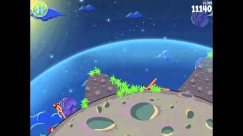 Angry Birds Space Pig Bang 1-6 Walkthrough 3-star