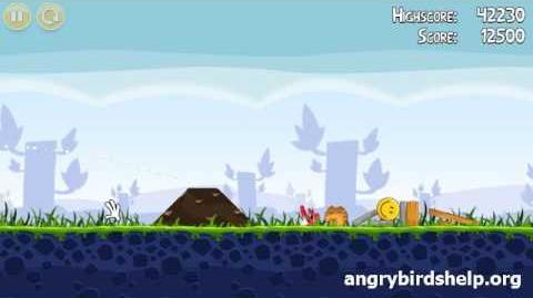 Angry Birds Level 1-3 - 3 Star Walkthrough