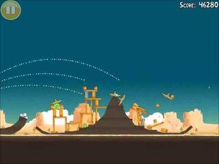 Official Angry Birds Walkthrough Ham 'Em High 12-2