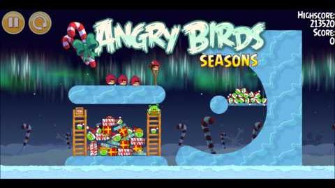 Музыка Angry Birds Winter Wonderham
