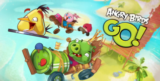 Angry Birds Go! Trailer Card