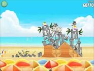 Official Angry Birds Rio Walkthrough Beach Volley 5-12