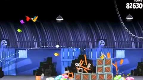 Official Angry Birds Rio Walkthrough Smuggler's Den 2-13