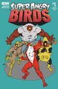 1 выпуск Super Angry Birds