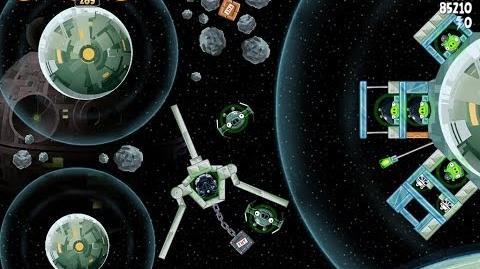 Death Star 2 6-13 (Angry Birds Star Wars)/Video Walkthrough