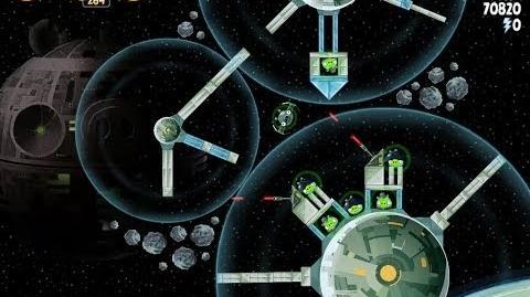 Death Star 2 6-9 (Angry Birds Star Wars)/Video Walkthrough