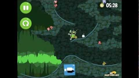 Bad Piggies Ground Hog Day 1-V Bonus Level Walkthrough 3 Star