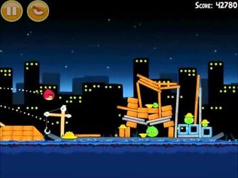 Official Angry Birds Walkthrough The Big Setup 11-11
