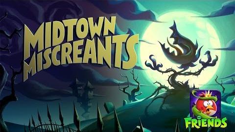 Angry Birds Friends - Halloween 2016 Midtown Miscreants