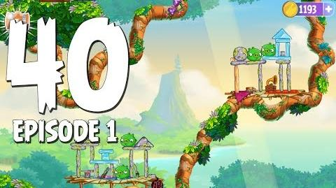 Angry Birds Stella Level 40 Walkthrough Branch Out Episode 1