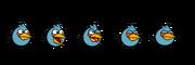 Blue bird spirites