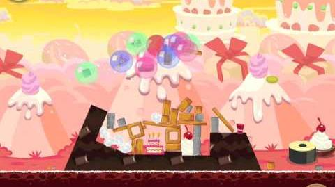Angry Birds Birdday Party 19-2 Walkthrough 3 Star Birthday Party