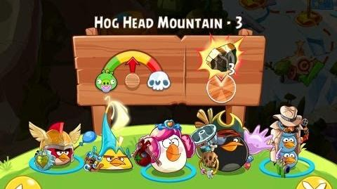 Angry Birds Epic Hog Head Mountain Level 3 Walkthrough