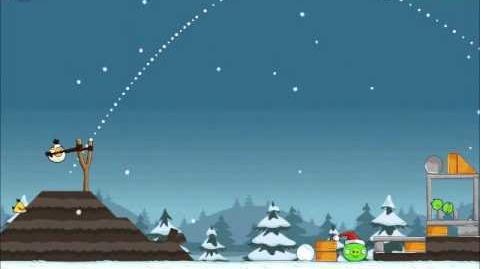 Official Angry Birds Seasons Walkthrough Season's Greedings 1-22