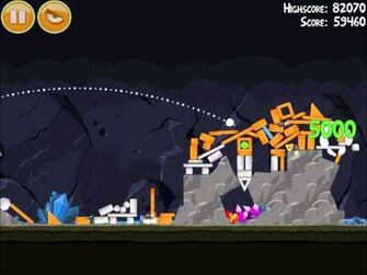 Official Angry Birds Walkthrough Mine and Dine 15-1